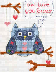 Plaid / Bucilla - My 1st Stitch - Owl Love You Forever