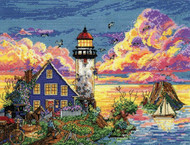 Design Works - Lighthouse Sunset