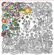 "Design Works - Zenbroidery - Christmas Nativity 10"" x 10"""