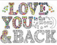 Design Works - Love You To the Moon And Back