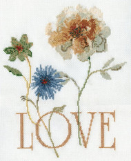 Design Works - Love  (Flowers)
