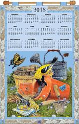 Design Works - Gardening 2018 Calendar