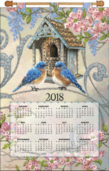 Design Works - Bird House 2018 Calendar
