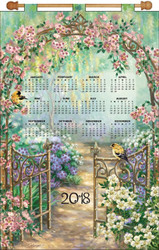 Design Works - Garden Gate 2018 Calendar