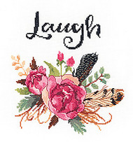 Janlynn - Watercolor Flowers Laugh