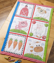 Plaid / Bucilla - Farm Animal Quilt Blocks