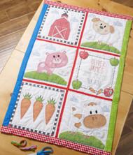 Plaid / Bucilla - Farm Animal Quilt Blocks