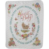 Plaid / Bucilla - Sweet Baby Crib Cover