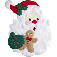 Plaid / Bucilla - Santa's Treat Wall Hanging