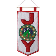 Plaid / Bucilla - Season of Joy Wall Hanging