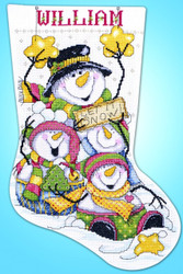 Design Works - Let it Snow Stocking