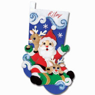 Design Works - Sleigh Ride Stocking