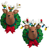 Plaid / Bucilla - Jingle and Belle Wall Hanging