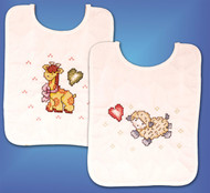 Design Works - Jesus Loves Me Baby Bibs (2)