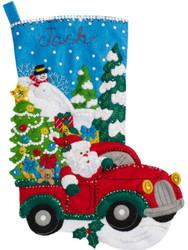 Plaid / Bucilla - The Christmas Drive Stocking