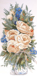 "Design Works - ""White Roses"""