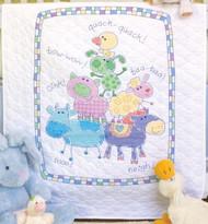 Dimensions Baby Hugs - Farm Friends Quilt
