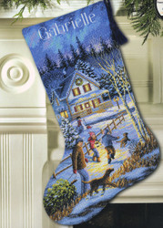 Gold Collection - Christmas Eve Fun Stocking