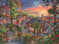 Kinkade / Disney - Lady and the Tramp
