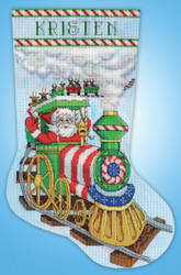 Design Works - Santa's Train Stocking