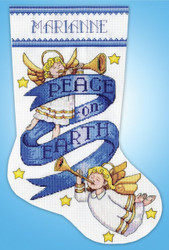 Design Works - Peace on Earth Stocking