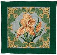 Candamar - Golden Iris Pillow / Picture