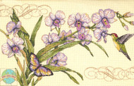 Dimensions - Orchids and Hummingbird