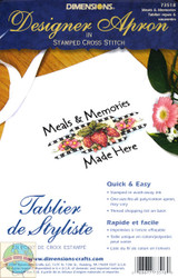 Dimensions -  Meals and Memories Apron