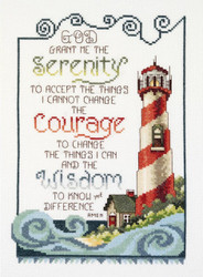 Janlynn Needlecrafts - Serenity Lighthouse
