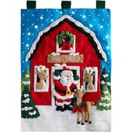 Plaid / Bucilla - Santa's Reindeer Wall Hanging