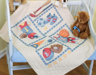 Baby Hugs -  Little Sports Quilt