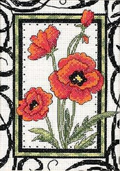 Dimensions Minis - Blooming Poppies