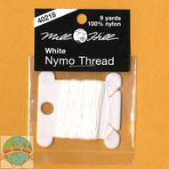 Mill Hill 9 Yards of White Nymo Thread