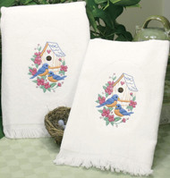 Dimensions - Birds (Set of 2 Guest Towels)