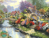 Candamar / Thomas Kinkade - Lamplight Bridge (C)