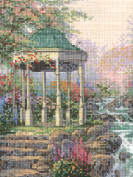 Candamar / Thomas Kinkade - Sweetheart Gazebo