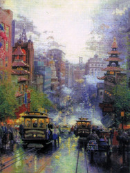 Candamar / Thomas Kinkade - San Francisco