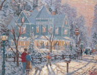 Candamar / Thomas Kinkade - Holiday Gathering