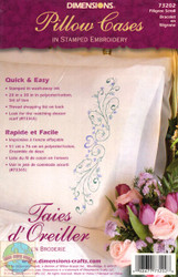 Dimensions - Filigree Scroll Pillowcases