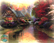 Candamar / Thomas Kinkade - A Quiet Evening