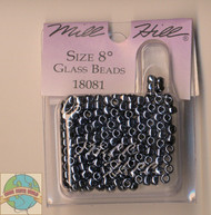 Mill Hill - Size 8 Glass Beads 6g Jet