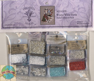 Mirabilia Embellishment Pack - Winter White Santa