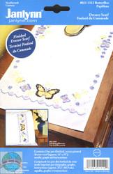 Janlynn - Butterflies Dresser Scarf