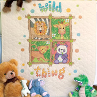 Dimensions Baby Hugs - Wild Thing Quilt