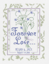 Janlynn - Forever Love Wedding Sampler