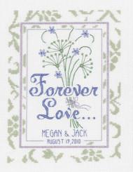 Janlynn - Forever Love Wedding Sampler