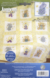 Janlynn - ABC 123 Quilt Blocks