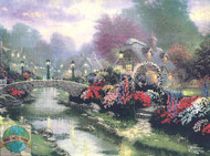 Candamar / Thomas Kinkade - Lamplight Bridge (E)