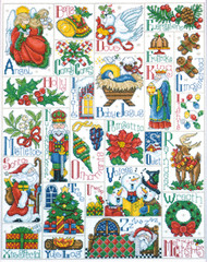 Design Works - Christmas ABC Sampler