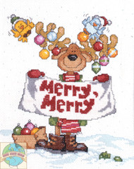 Design Works - Merry Merry Moose